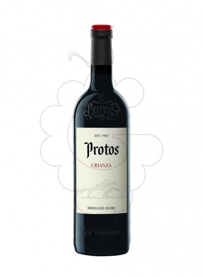 Foto Protos Crianza vi negre