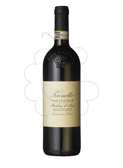 Foto Prunotto Costamiòle Barbera d'Asti vi negre
