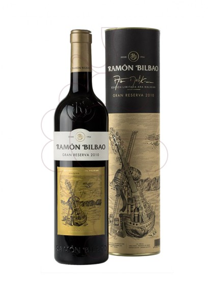 Foto Ramon Bilbao Gran Reserva vi negre