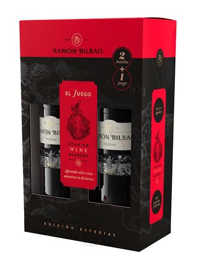 Foto Caixes regal Ramon Bilbao Reserva Pack (2 u + joc)