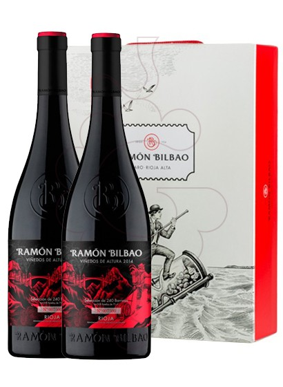 Foto Caixes regal Ramon Bilbao Viñedos de Altura Pack 2 u