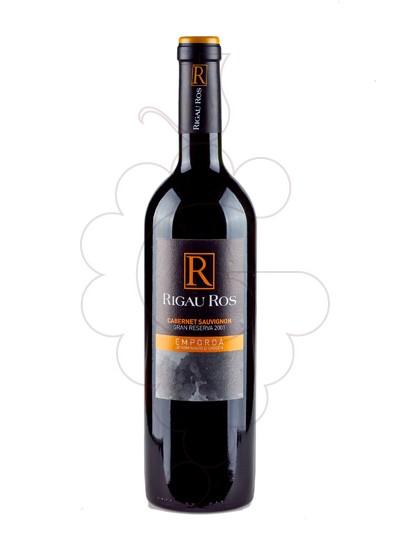 Foto Rigau Ros Cabernet Gran Reserva vi negre