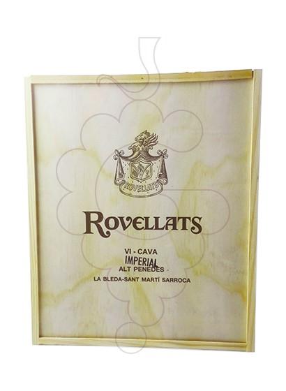 Foto Caixes regal Rovellats Gran Reserva Pack Fusta 3 u