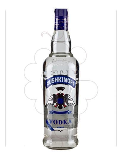 Foto Vodka Rushkinoff Blue Label