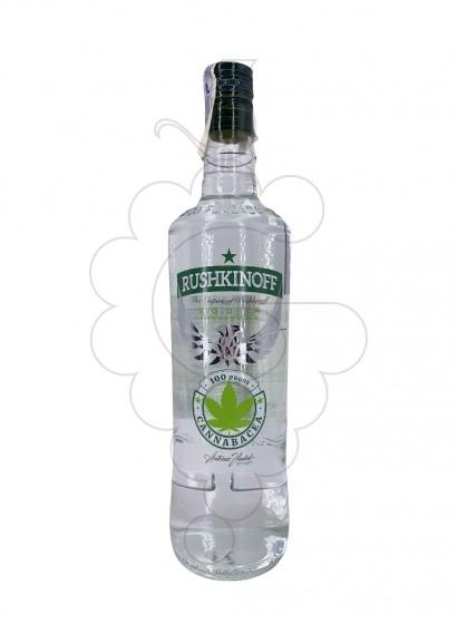 Foto Vodka Rushkinoff Cannabis