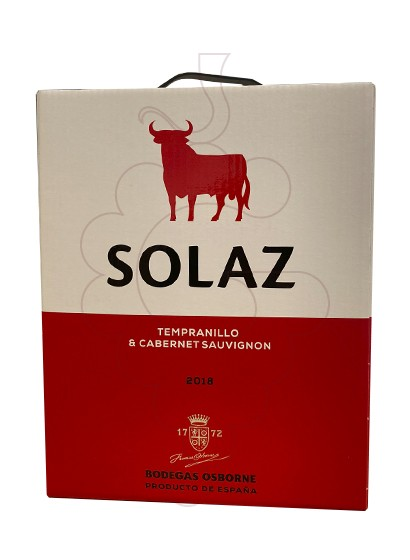 Foto Solaz Bag in Box vi negre