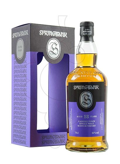 Foto Whisky Springbank 18 Anys