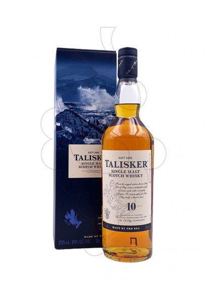 Foto Whisky Talisker 10 Anys