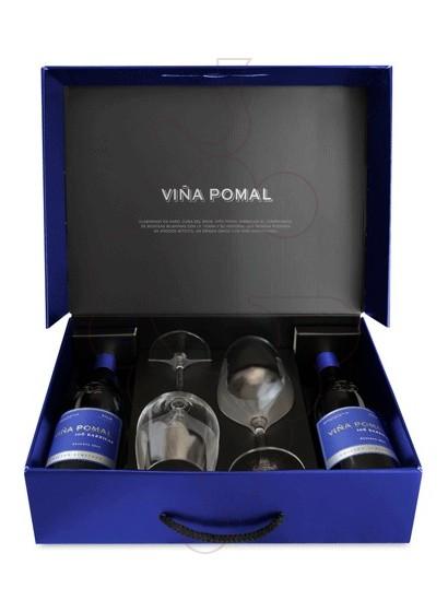 Foto Caixes regal Viña Pomal 106 Barricas Reserva Pack (2 u + Copes)