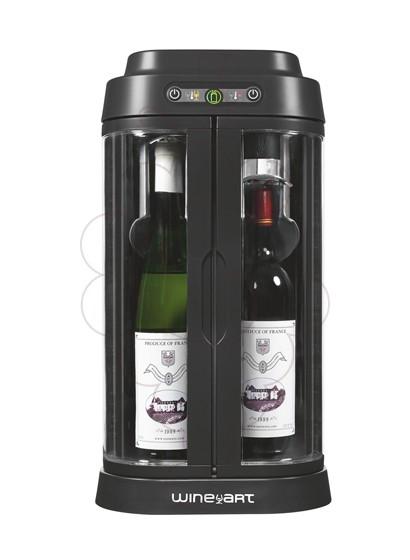 Foto Accessoris Eurocave Wine Art Black/Silver